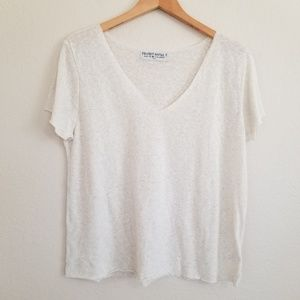 Urban Outfitters Tops - NWOT Urban Outfitters Ivory Oversized Shirt S
